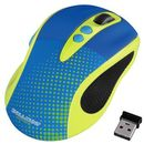 Mouse Hama Knallbunt 2.0, optic wireless, galben