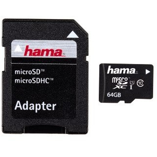 Card memorie 108077 Micro SDXC 64GB, class 10 + adaptor SD