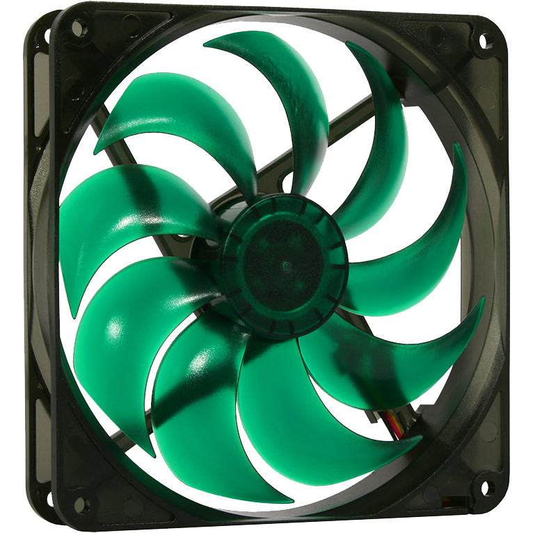 ventilator Deep Silence 140 mm, 1400 rpm