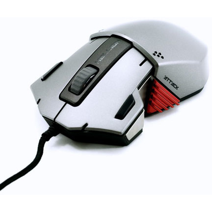 Mouse Hellion Gaming, laser 5000dpi, negru