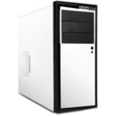 Carcasa NZXT Source 210 Middletower, alba