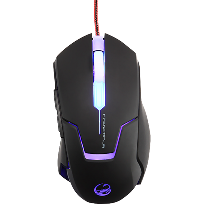 Mouse Frenetic JR gaming, 4000dpi, USB