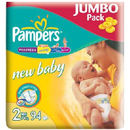 PAMPERS Scutece New Baby 2 Mini Jumbo Pack 94 buc