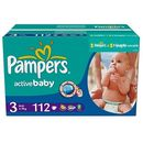 PAMPERS Scutece Active Baby 3 Midi Giant Pack Plus 112 buc