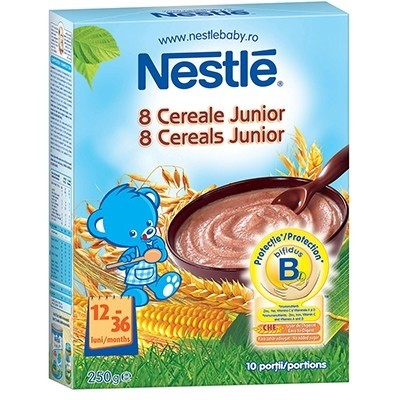 Cereale- 8 cereale Junior 250g thumbnail