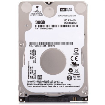HDD Laptop WD5000LUCT AV-25 500GB, 2.5 inch thumbnail