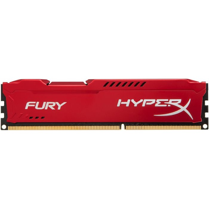 Memorie HyperX Fury Red HX318C10FR/4, 4GB DDR3 1866MHz