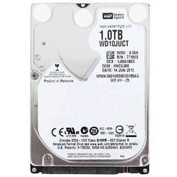 HDD Laptop WD10JUCT AV-25, 2.5 inch, 1TB, 5400rpm thumbnail