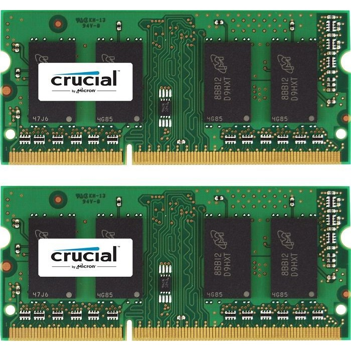 Memorie laptop CT2KIT25664BF160B, 2x2GB 1600MHz DDR3 CL11 SODIMM