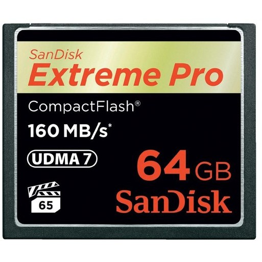 Card memorie SDCFXPS-064G-X46, Compact Flash Extreme PRO 64GB