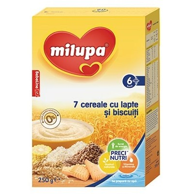 7 Cereale cu lapte si biscuiti 250g 6+ luni thumbnail