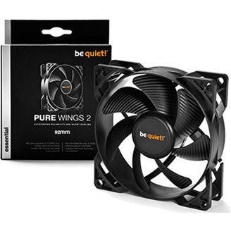 Be Quiet ventilator Pure Wings 2, 92 mm, 18.6 dBA