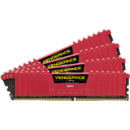 Memorie Corsair CMK16GX4M4B3000C15R Vengeance LPX Red, 4x4GB DDR4 3000MHz CL15