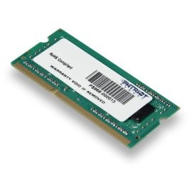 Signature 4 GB DDR3, 1600 MHz, CL 11, SODIMM, Non-ECC Patriot