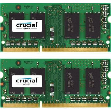 Memorie laptop Crucial CT2KIT102464BF160B, 2x8GB 1600MHz DDR3 CL11 SODIMM