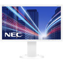 Monitor LED NEC MultiSync E224Wi, 21.5 inch, 1920 x 1080 Full HD, alb