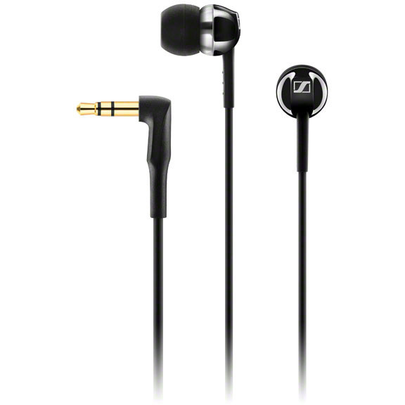Casti CX 1.00 In-ear, negre