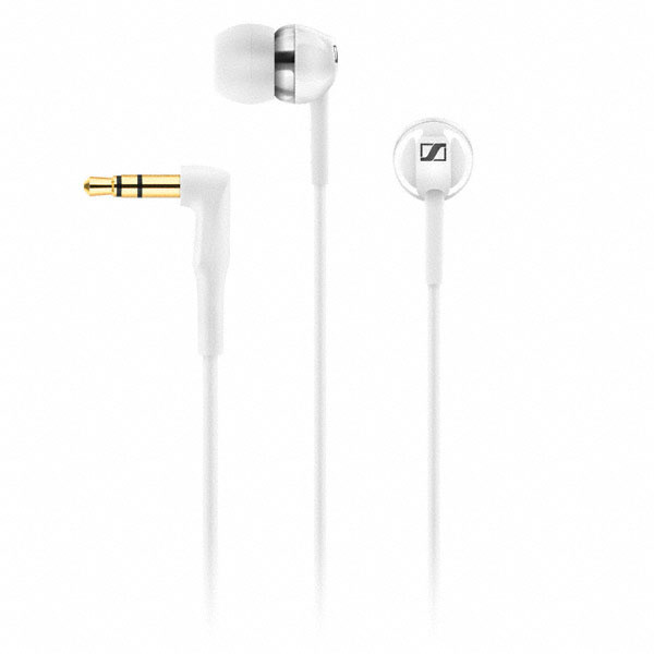 Casti CX 1.00 In-ear, albe