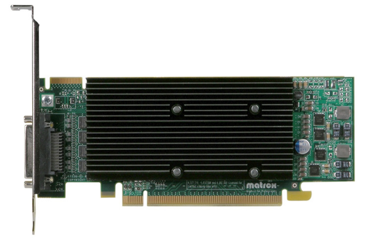 Placa video M9140, 512MB GDDR2 , 4xDVI, PCI-Express x16, low profile