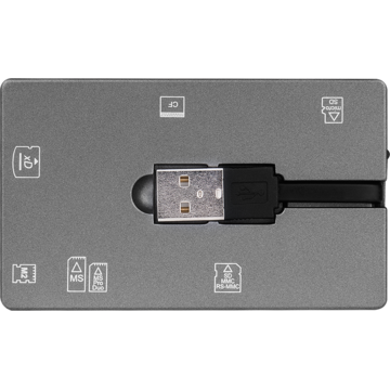 Card reader Canyon CNE-CARD2 extern all-in-one, USB 2.0