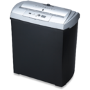 Distrugator documente EDNET 91605 Shredder S7CD, capacitate 7 coli CD/DVD/Bank Card
