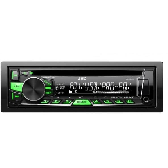 Sistem auto KD-R469EY, 1 DIN, AUX-in frontal; Compatibil Bluetooth