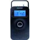 Blaupunkt Portable Radio PP10BK, FM PLL SD/USB/AUX with battery, black