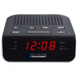 Clock Radio CR5WH, FM PLL, black