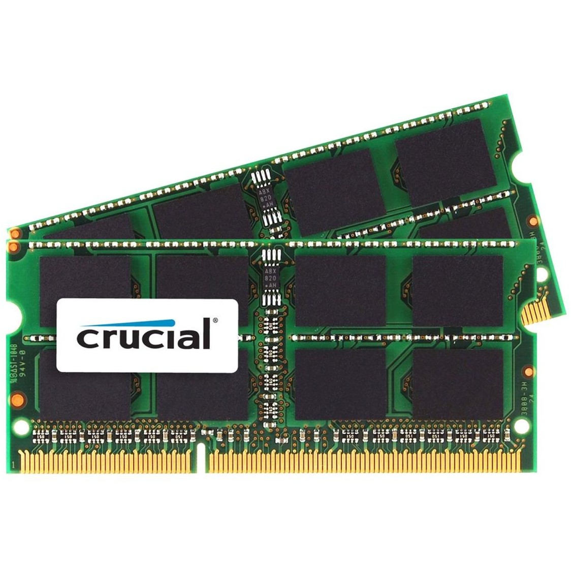 Memorie laptop CT2C4G3S1339MCEU, SODIMM, 2x4 GB DDR3, 1333 MHz, CL 9, 1.35/1.5V for Mac thumbnail
