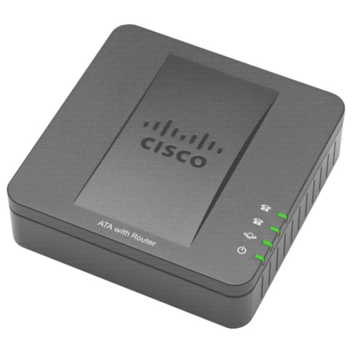 Cisco SPA122 2 Port Phone Adapter with Router SPA122
