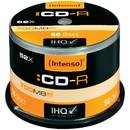 Intenso CD-R, 50 bucati, 52x, 700 MB