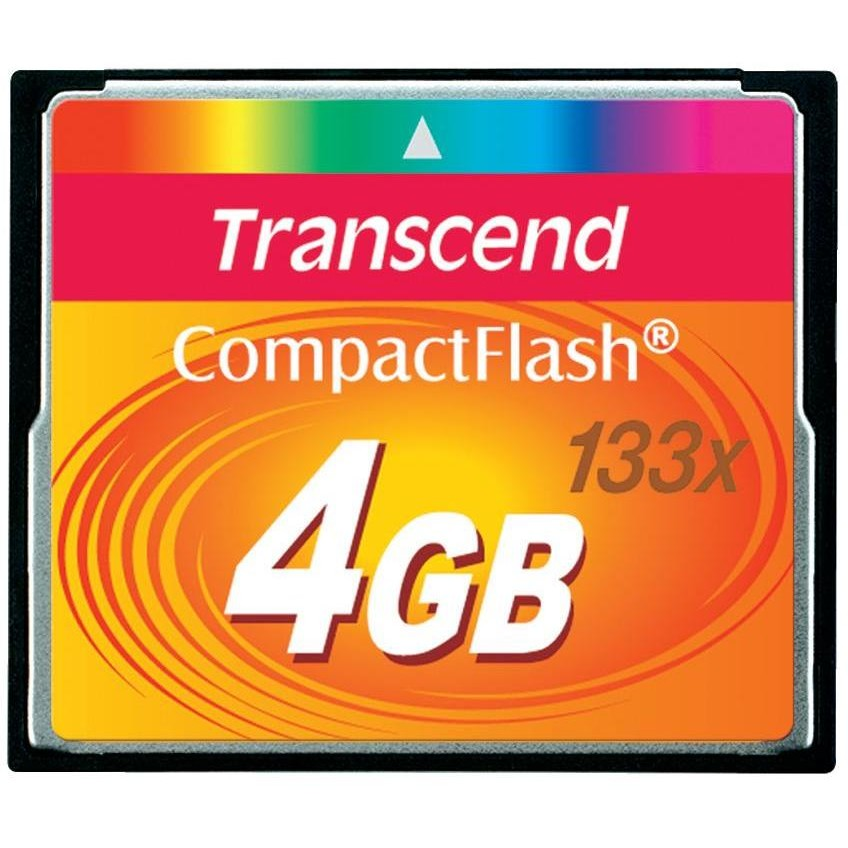 Card memorie Compact Flash 133x, 4 GB