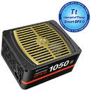 Sursa Thermaltake Toughpower DPS G 1050W , Digital PSU, 6xPCI-E, modulara, 80 plus Gold