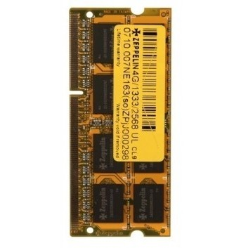 Memorie laptop SODIMM ZEPPELIN DDR3/1600 4096M (life time, dual channel) low voltage ZE-SD3-4G1600V1.35 thumbnail