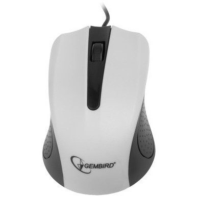 Mouse Mouse GEMBIRD USB OPTIC white MUS-101-W