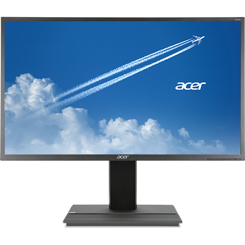 Monitor LED B326HU, 16:9, 32 inch, 6 ms, gri inchis