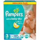 PAMPERS Scutece Active Baby 3 Mega Box Pack 174 buc