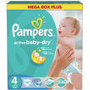 PAMPERS Scutece Active Baby 4 Mega Box Pack 147 buc