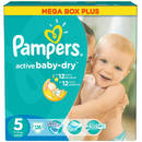 PAMPERS Scutece Active Baby 5 Junior Mega Box Pack 126 buc