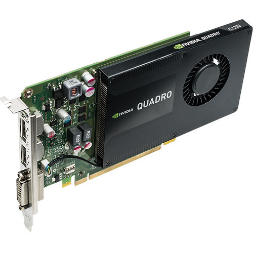 Placa video Quadro K2200, 4GB GDDR5, 128-bit