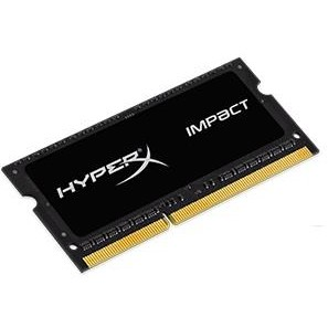 Memorie laptop Kingston HyperX 8GB 1866MHz DDR3L CL11 SODIMM 1.35V HyperX Impact Black HX318LS11IB/8