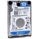 Western Digital Blue, 500GB, 5400 RPM, SATA3, 2.5 inch