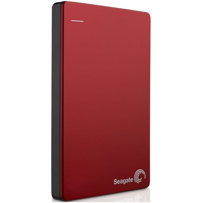 Hard disk extern BACKUP PLUS PORTABLE 1TB 2.5 inch USB 3.0 Red
