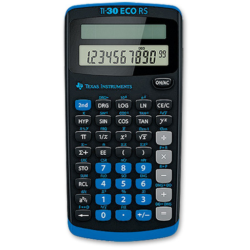 Calculator de birou TI-30RS eco, 10 cifre, stiintific thumbnail