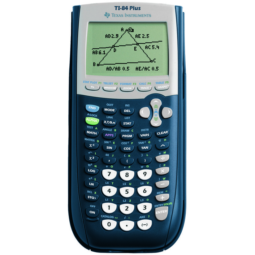 Calculator de birou TI-84 Plus, 16 cifre, grafic thumbnail