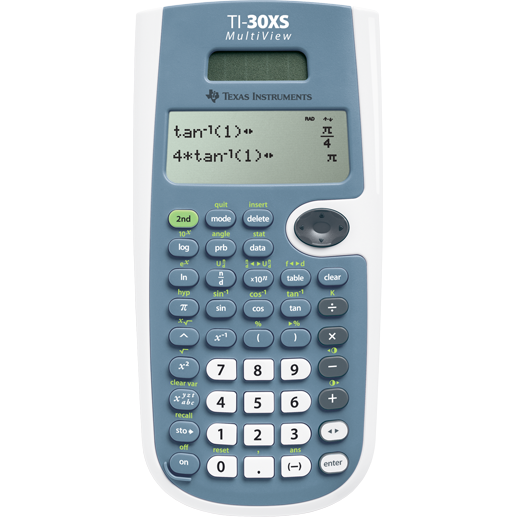 Calculator de birou TI-30XS, 16 cifre, stiintific thumbnail