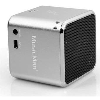 Player MusicMan SoundStation Mini portabil, argintiu thumbnail