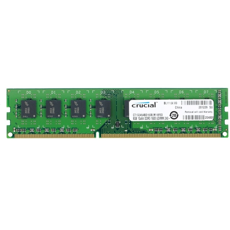 Memorie CT102464BD160B, DDR3, 8GB, 1600MHz, CL11