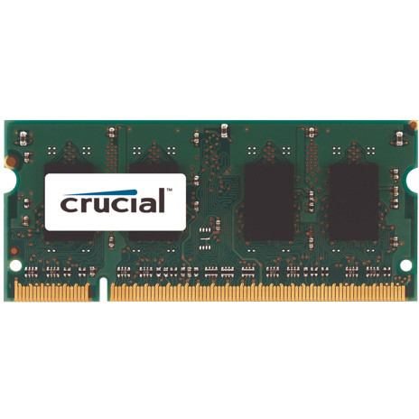 Memorie laptop Memorie RAM CT12864AC800, SODIMM, DDR2, 1 GB, 800MHz, C6, unbuffered, non-ECC