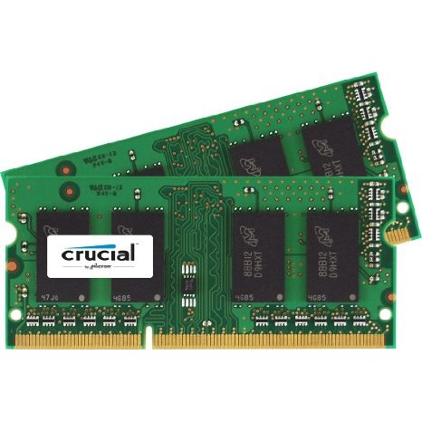 Memorie laptop Memorie RAM CT2C8G3S1339MCEU, SODIMM, DDR3, 2 x 8 GB, 1333 MHz, CL 9, pentru Mac, kit thumbnail